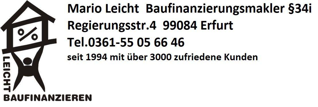 Leicht Baufinanzieren seit 1994 deutschlandweit